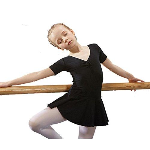 Byjia Ballett Gymnastik Praxis Match Kleidung Tanz Mädchen Kleid Kindergarten Kinder Prinzessin Tulle Party Kinder Bühnen Studenten Gruppe Team Leistung Kostüme 8# 110Cm (Für Von Gruppen 8 Kostüme)