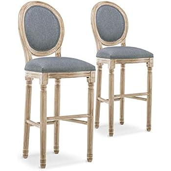 médaillon XVI INTENSEDECO de Lot de chaises 2 Louis Bar lF1KcJ
