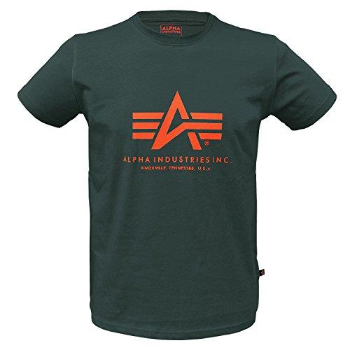 Alpha Ind. Basic T-Shirt Dark Petrol - M