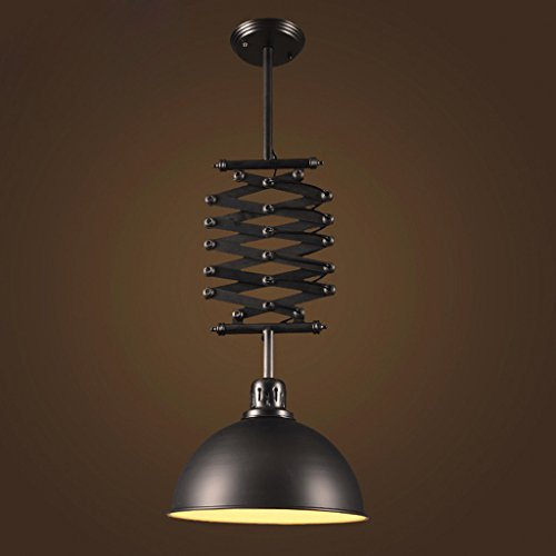 American-country-vintage-wrought-iron-chandelier-creative-telescopic-lifter-bar-restaurant-industry-study-lamp