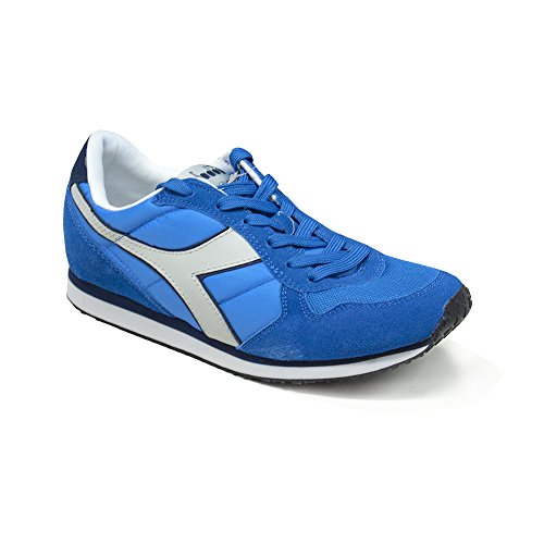 Diadora Schuhe Sneaker Herren Typ K Run Farbe Royal aus Aluminium Royal / Alluminium
