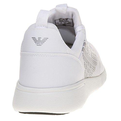 Herren Weiß Weiß Racer Sneaker EA Simple 7 awz68x7v