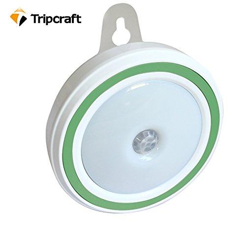 Amir Motion Sensor Light, 2 Pack Motion Sensor LED Night Light, with 3 Modes, Auto On/ Off, Cordless Wall Lights, Step Lights for Hallway, Closet, Stairs, Bedroom, Nursery