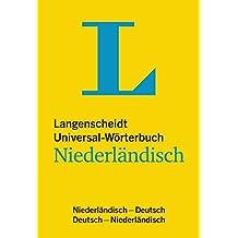 Langenscheidt Universal-Wörterbuch Niederländisch: Niederländisch-Deutsch/Deutsch-Niederländisch (Langenscheidt Universal-Wörterbücher)