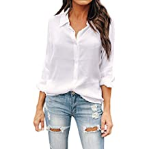 Casual Tops Uniforme Para Mujer Trabajo Camisa Manga Formal Larga Oficina Blusa De Señoras 7zPwxqwa