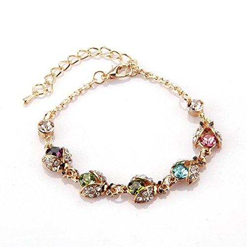 sodialr-oro-tone-metallo-strass-catena-coleotteri-bracciale-colorato