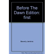 Before The Dawn by Beverly Jenkins (2001-08-01)