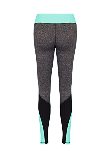 Dress Sheek Damen Sport Leggings Blau