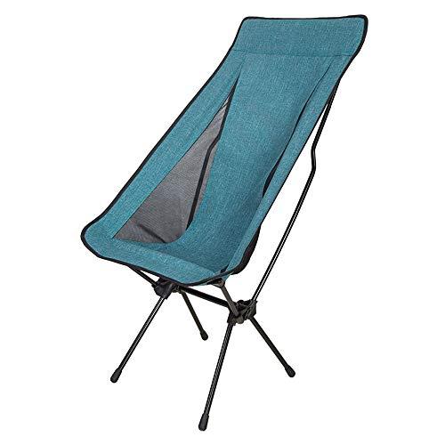 HUACANG Chaise Portable Pliante Pique-Nique Croquis Extérieur Chaise De Pêche Touristique Sac De Rangement pour Chaise Cadre en Alliage D'aluminium (Couleur : Bleu, Size : L)