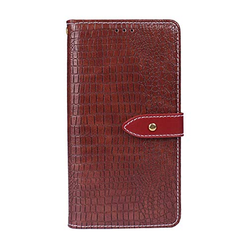 Flip Wallet Case for Motorola Moto G5S Plus Phone Case Slim Shock Protection with Card Slots Lightweight Cellphone Case and Adjustable Stand Purplish Red