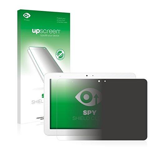upscreen Spy Shield Clear Blickschutzfolie / Privacy für BQ Edison 3 (Sichtschutz ab 30°, Kratzschutz, selbstklebend)