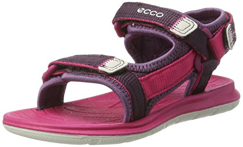 Ecco Mädchen Intrinsic Lite Offene Sandalen mit Keilabsatz, Violett (50568GRAPE/Beetroot), 34 EU