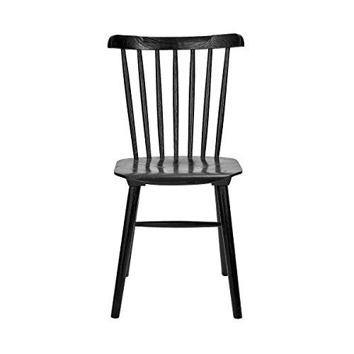 Butlers Today Stuhl - Wohnzimmermöbel aus Holz - Einrichtung für Das Esszimmer und die Küche - Hochwertige Sitzgelegenheiten