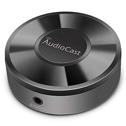 Adaptador inalámbrico de música ACEMAX M5 WiFi Audiocast compatible DLNA Airplay Spotify...