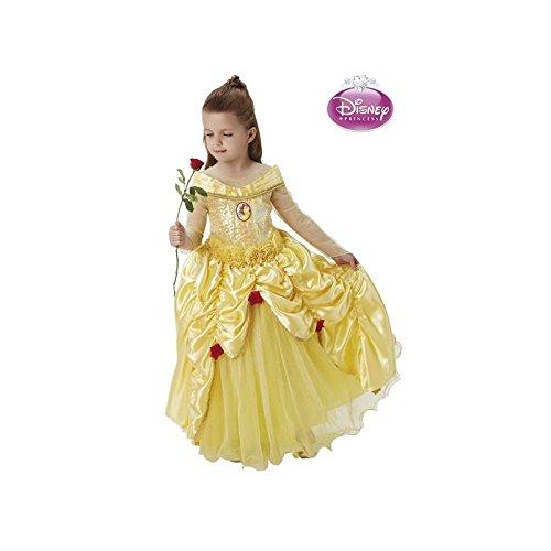 Imagen de disfraz de bella premium de disney para niña