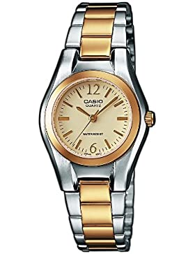 Casio - Damen -Armbanduhr LTP-1280PSG-9A