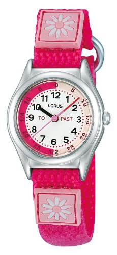 Lorus Time Teacher Watch Bright Pink RG265HX9