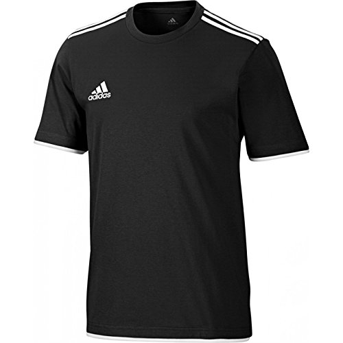 adidas-core-11-tee-tee-para-hombre-tamano-7-uk-color-negro