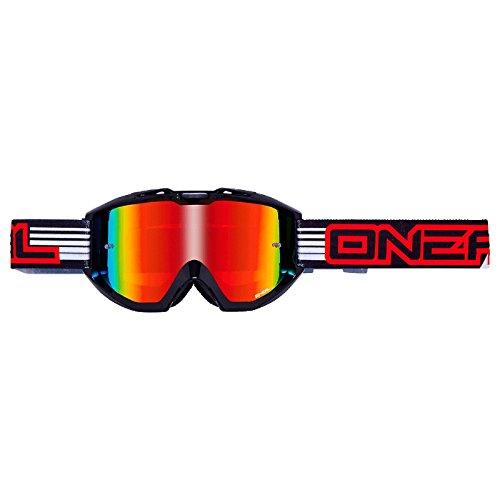 O'Neal B1 RL Goggle Flat Schwarz Radium Brille, 6023-604 -