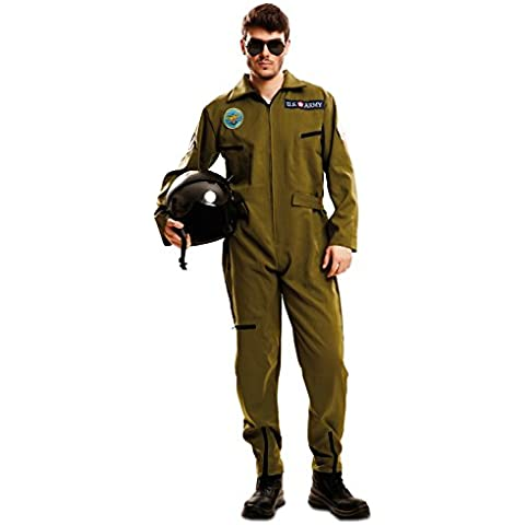 My Other Me - Disfraz Top Gun adulto, talla XL  (Viving Costumes MOM02628)