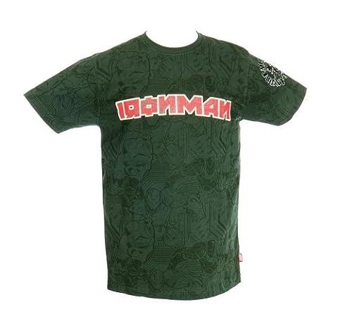 T-Shirt Homme Noir Iron Man