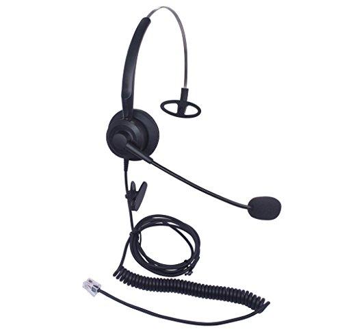 Xintronics Auriculares Teléfono Fijo Monoaurale RJ9