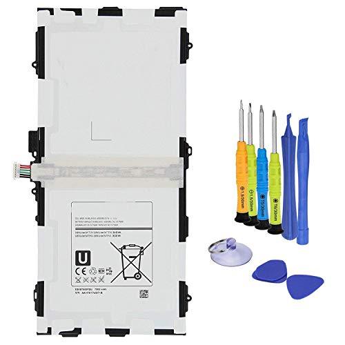 batteria per tablet ANTIEE 7900mAh EB-BT800FBU Tablet Batteria per Samsung Galaxy Tab S 10.5 LTE SM-T800 T801 T805 T805C T805W T805Y T805M T807 T807T(3G