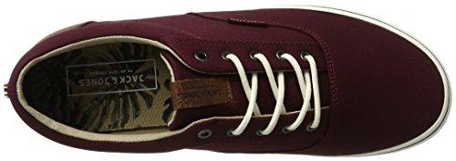 Jack & Jones Jfwvision Mixed Port Royal, Sneakers Basses Homme Rouge (Port Royale)