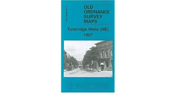 Old Ordnance Survey Detailed Maps  Tunbridge Wells NE Kent 1907 Godfrey Edition