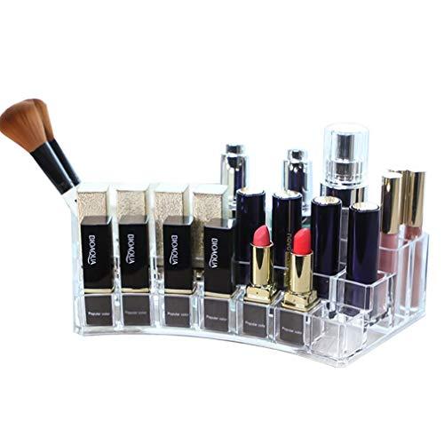 Maquillage Organisateur Plateau de Rangement Stand Comptoir Cosmétique de Comptoir Boîte à Bijoux pour Brosses, Rouge À Lèvres, Fondation, Accessoires