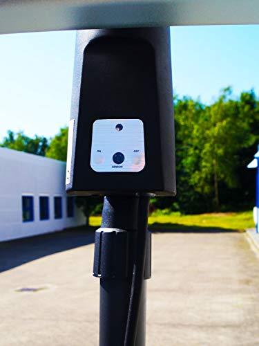 Traedgard® Elektro Infrarot- Heizstrahler Keitum, 64579 - 5