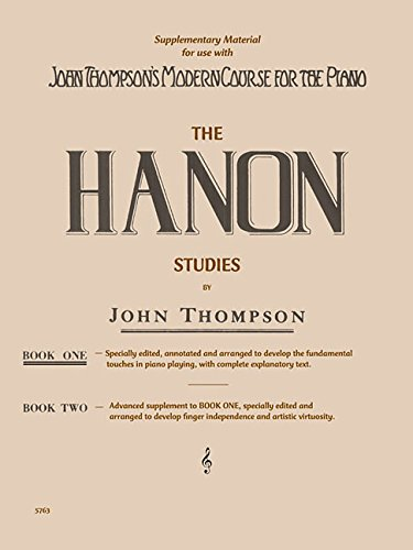 Hanon Studies - Book 1: Elementary Level
