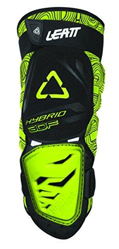 Leatt 3DF - Rodillera para Enduro híbrido, color negro y verde, 3DF,...