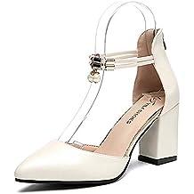 bbcefede30f5d Scarpe Eleganti Scarpe col Tacco Alto Scarpe da Sposa Scarpe estive Scarpe  da Donna Décolleté a
