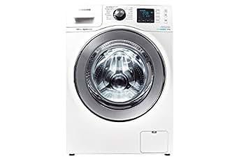 Samsung WF80F7E6U6W EcoBubble 8kg 1600rpm Freestanding Washing Machine - White