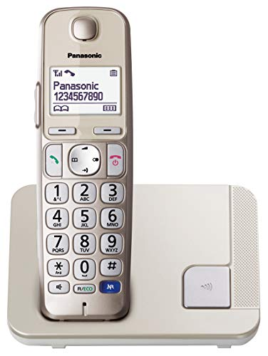 Panasonic KX-TGE210SPN -Teléfono Fijo Inalámbrico