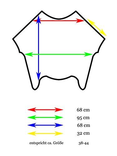 Tunika Bluse Seide Punkte Fledermaus Viele Farben 38 40 42 44 Oliv