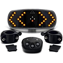 CKB Ltd–Sistema de señalización para Bicicletas (Indicadores LED inalámbricos con Mando–Ciclismo Gadget