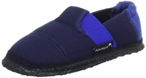 Nanga Jungen Klette 06 Flache Hausschuhe, Blau (38), 31 EU