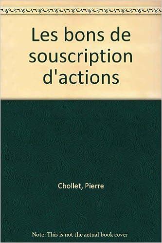 Download Online Les bons de souscription d'actions epub pdf