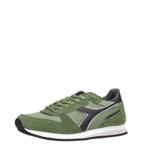 Diadora Malone, Chaussures de Gymnastique Mixte Adulte Vert