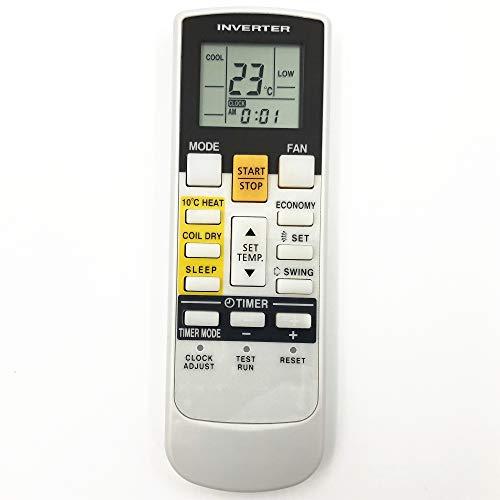 Lands Telecomando di Controllo ar-rae1e Fit Fujitsu General condizionatore d' Aria ASHA09LGC ASHA12LGC