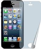 2x Apple iPhone 5, 5S, 5C Entspiegelnde Displayschutzfolie Bildschirmschutzfolie von 4ProTec - Nahezu blendfreie Antireflexfo
