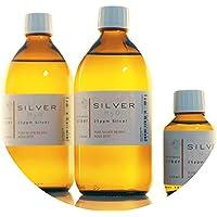 Preisvergleich für PureSilverH2O 1100ml kolloidales Silber (2X 500ml/25ppm) + Flasche (100ml/25ppm) Reinheit & Qualität seit 2012