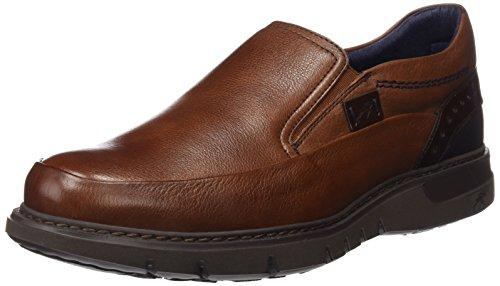 Fluchos- retail ES Spain 9506 , Slip-on chaussures homme Marron (Libano)