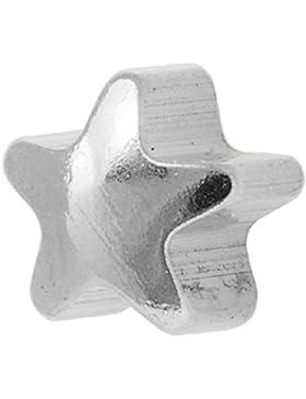 Studex Ohrstecker Edelstahl silberfarben Sternform schlicht Ohrringe 4 mm