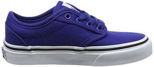 Vans Atwood, Chaussures de Running Mixte Enfant Bleu (Canvas)