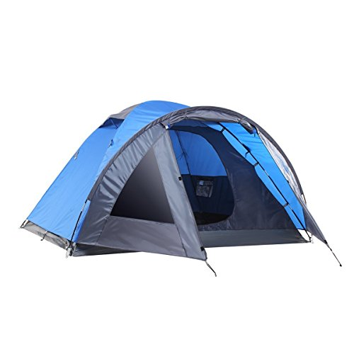 41FrzOn8SPL. SS500  - Semoo Lightweight 3-Season Camping/Traveling Tent Double Layer, 3-4 Person Waterproof Dome Tent with Carry Bag