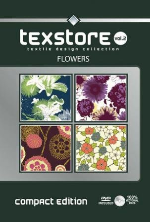 Texstore Vol. 2 (compact edition) Flowers incl. DVD -