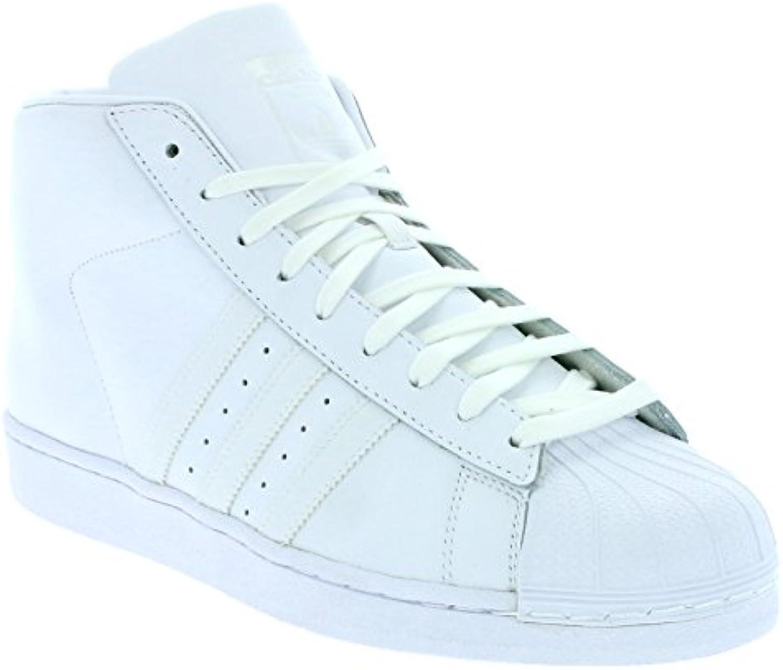 adidas Originals Superstar Pro Model Schuhe Sneaker Sportschuhe Weiß AQ5217